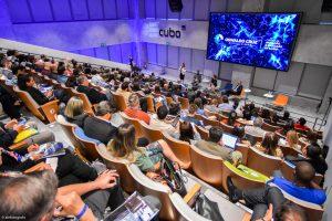 Auditório do Summit Inovação em Saúde